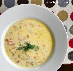 Byrne's Seafood chowder