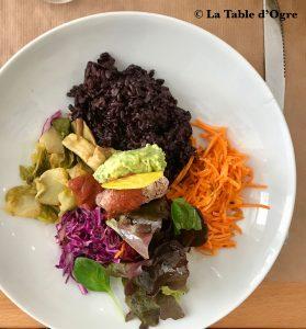 Given Salade riz noir
