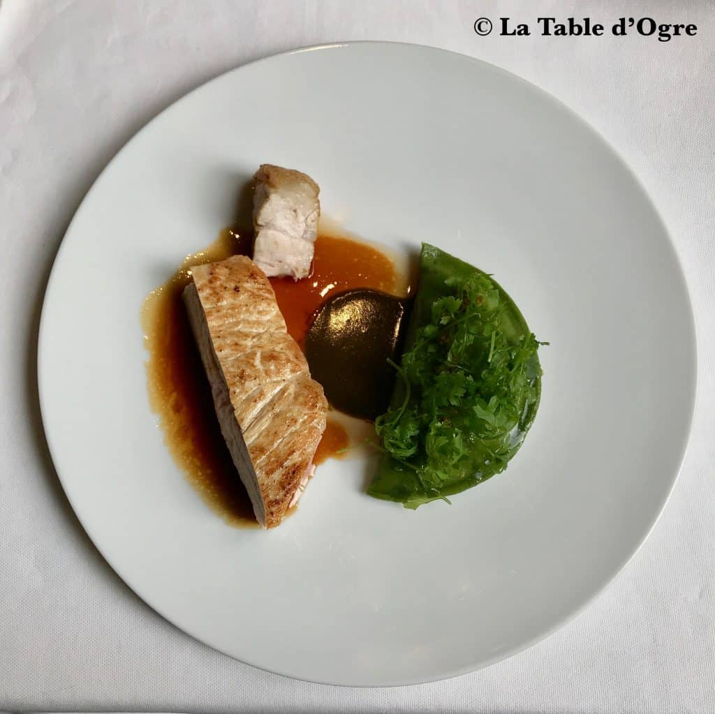 Le Gabriel La Réserve Côte de veau assiette
