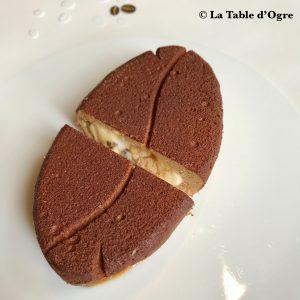 Le Gabriel La Réserve Dessert café gros plan