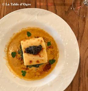 Louis Vins Quenelles de bar, caviar