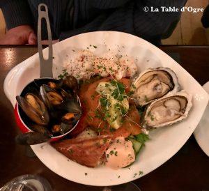 Mitchell's Restaurant Assiette de la mer
