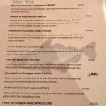 Mitchell's Restaurant Carte vins blancs