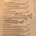 Mitchell's Restaurant Carte vins rouges