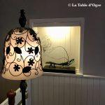 Mitchell's Restaurant Lampe et sculpture