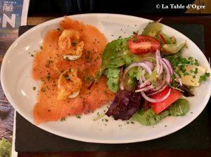 Mitchell's Restaurant Saumon fumé