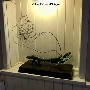 Mitchell's Restaurant Sculpture