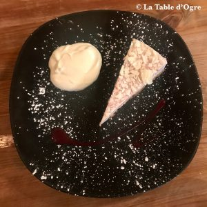 Off The Square Cheese cake