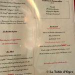 Savy Cartes plats et desserts