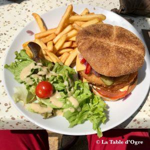 Snack Ferrat Burger poulet