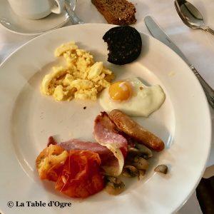 Abbeyglen Hotel Petit déjeuner