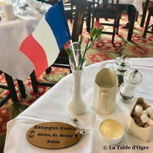 Abbeyglen Hotel Table petit-déjeuner
