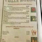 La vieille rouge Carte cocktails sans alcools