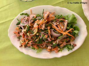 Le Bénitier Salade d'ourite