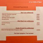 Le Pescatore Carte champagnes