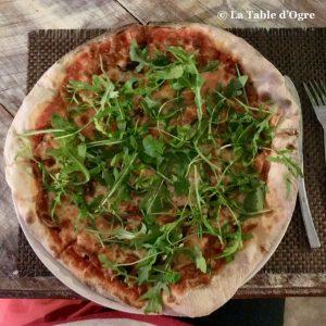 Mamma Mia Pizza rucola scarmoza