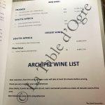 Prince Maurice Le Barachois Carte vins rouges