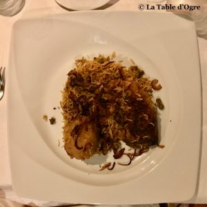 Spices Sands Resort Biryani au poulet