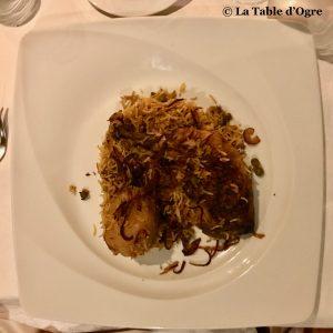 Spices Sands Resort Biryani au poulet