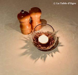 Spices Sands Resort Décor table