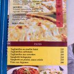 The Spoon Carte pizzas et pâtes