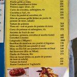 The Spoon Carte spécialités