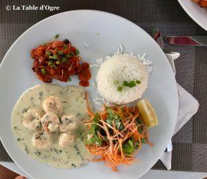 The Spoon Crevettes à l'ail