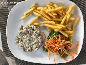 The Spoon Tartare de poisson