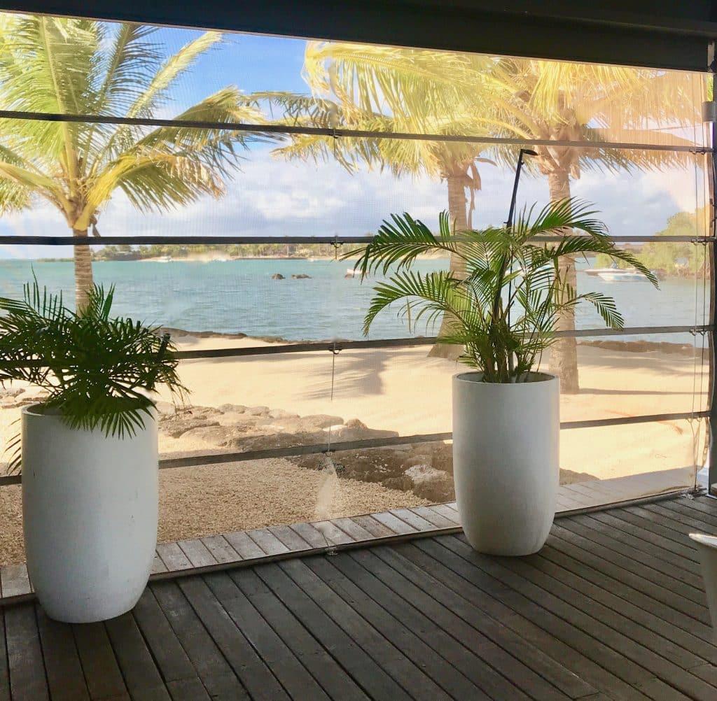 Anahita Resort Terrasse petit déjeuner