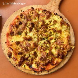 Babakoul Pizza kefta