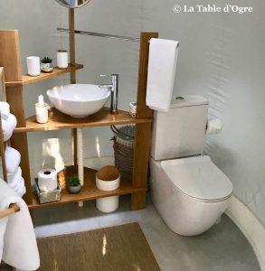 Bubble Lodge Hotel Salle de bain