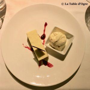 Bubble Lodge Restaurant Dessert