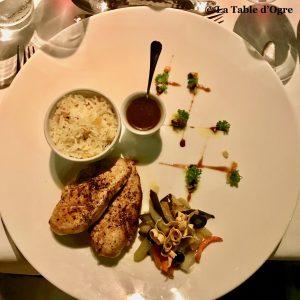 Bubble Lodge Restaurant Filet de poulet