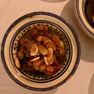Dar Cherifa Agneau raisins et amandes
