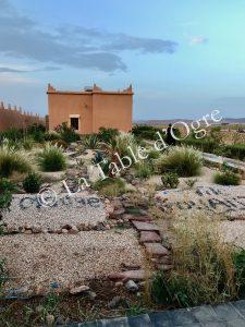 Ile de Ouarzazate Bâtiment