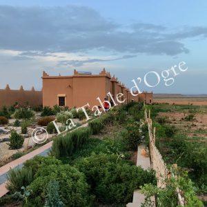 Ile de Ouarzazate Bâtiments