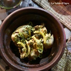 Ile de Ouarzazate tajine poulet