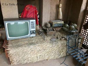 Kasbah Tirigioute Très vieille télé !