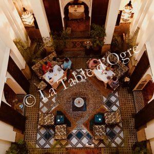 Ksar Essaoussan Vue patio