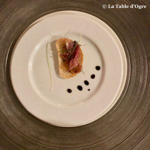 La Table du Château Amuse bouche