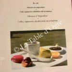 La Table du Château Café gourmand