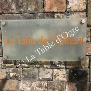La Table du Château Présentation