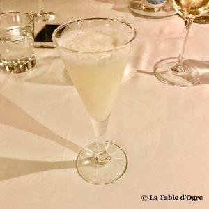 La Table du Château Sorbet citron