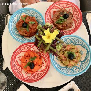 Palais Mehdi Restaurant Assortiment salades
