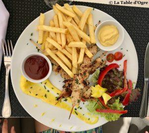 Palais Mehdi Restaurant Brochettes poulet