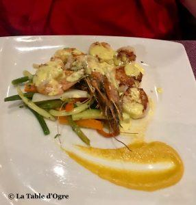 Pure PassionDuo crevettes et Saint-Jacques