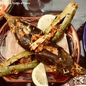 Riad Maryam Salade courgettes aubergines