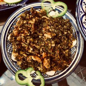 Riad Maryam Salade mauve