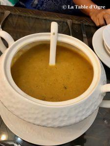 Riad Maryam Soupe poissons légumes