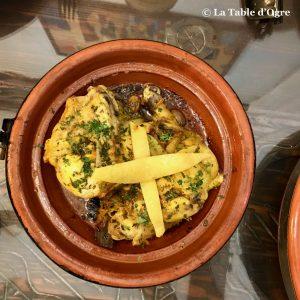 Riad Maryam Tajine poulet